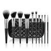 10pcs Black Essential Brushes Gift Set