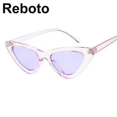 Retro Triangular Glasses