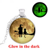 Free - Witch & Cat Glowing Necklace