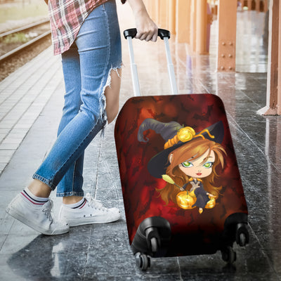 Halloween Protective Luggage Cover