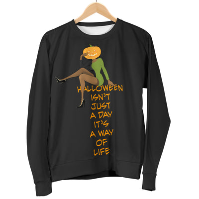 Women's Sweater Halloween is a Way of Life