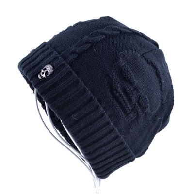 Cool Skull Knitted Hat