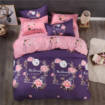 3D Butterfly Print Bedding Set