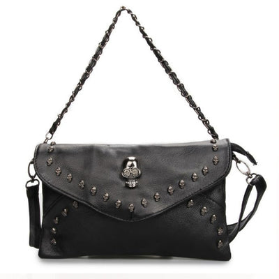 Skull Rivet Punk Bag