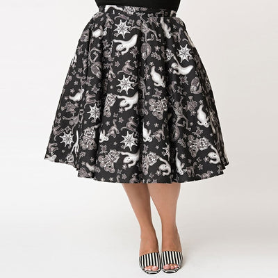 Vintage Halloween Inspired Skirt