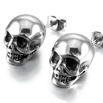 Free - Punk Skull Earrings