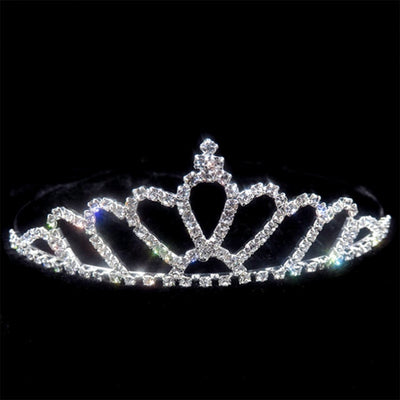 Elegant Crystal Party Crown