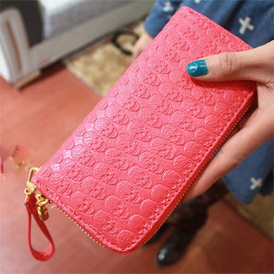 PU Leather Skull Wallet