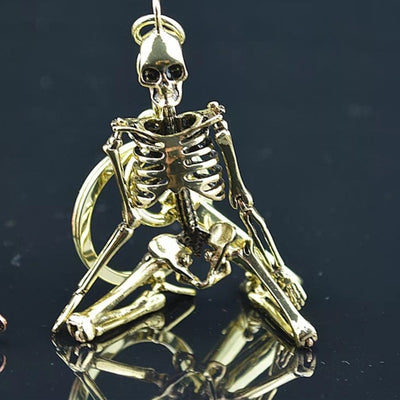 Foldable Skeleton Key Chain
