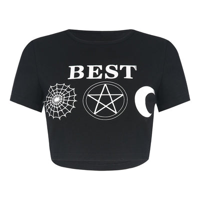 """Best Witches"" Gothic Crop Tops"