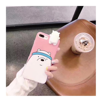 Polar Bear Couple iPhone Case