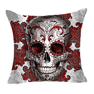 Free - The Skull Cushion Cover