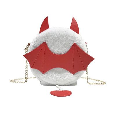 Plush Little Monster Bat Bag