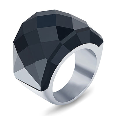 Gothic Crystal Ring