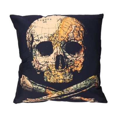 Free - Dead Skull Pillow Cover
