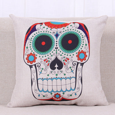 Free - Skull Punk Pillow Case