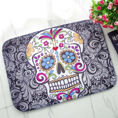 Sugar Skull Anti-Slip Mat