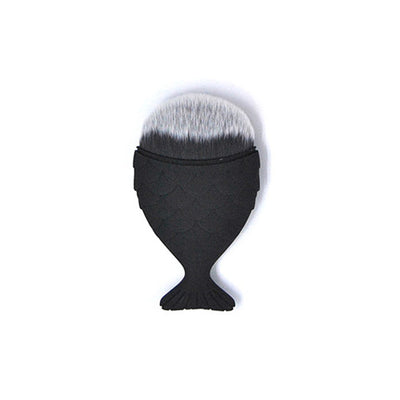 Black Mini Mermaid Brush