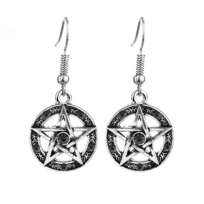 Free - Supernatural Pentagram Earrings