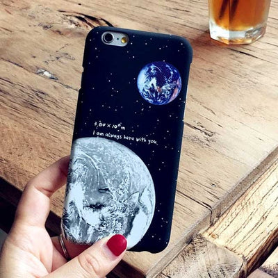 6 Styles Galaxy and Planet iPhone Case
