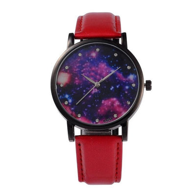 Moon And Starry Sky Space Wristwatch