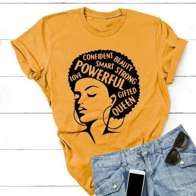 Feminist Powerful Girl T-Shirt