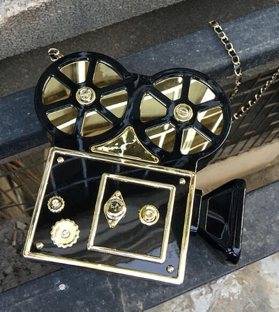 Movie Projector Handbag