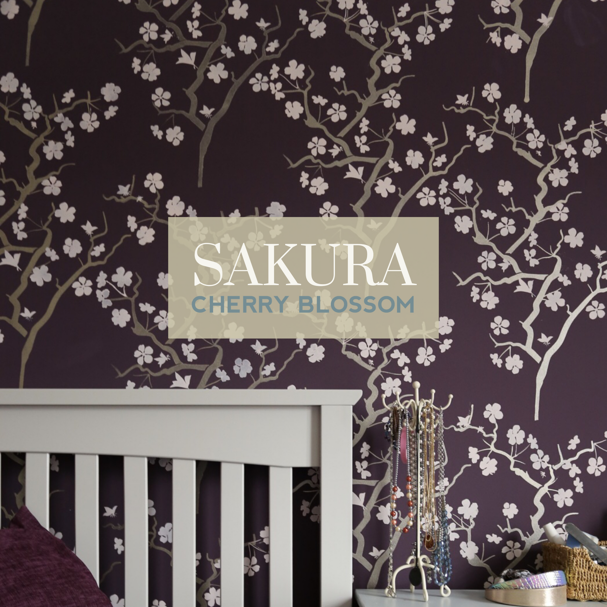 Sakura Feature Wall