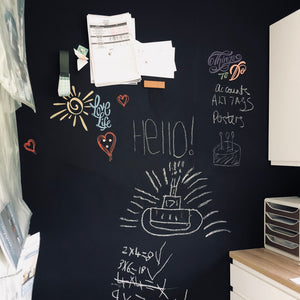 Magnetic Chalk Wall