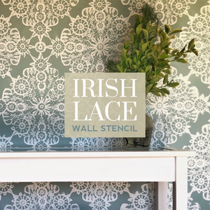 Irish Lace Feature Wall
