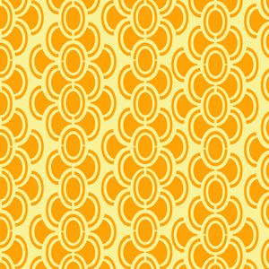 oval chain repeating pattern