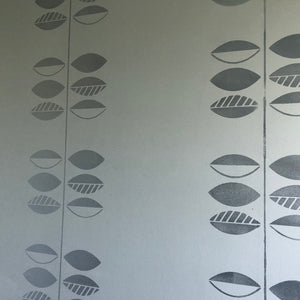 Leaf and Stem wall stencil