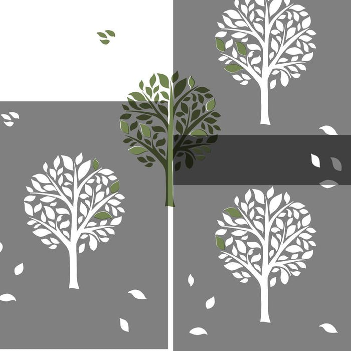 REPEATING TREES craft stencil