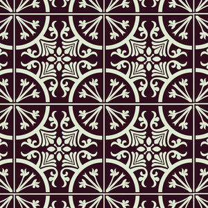 St albans tile stencil for painting - Stencil Up