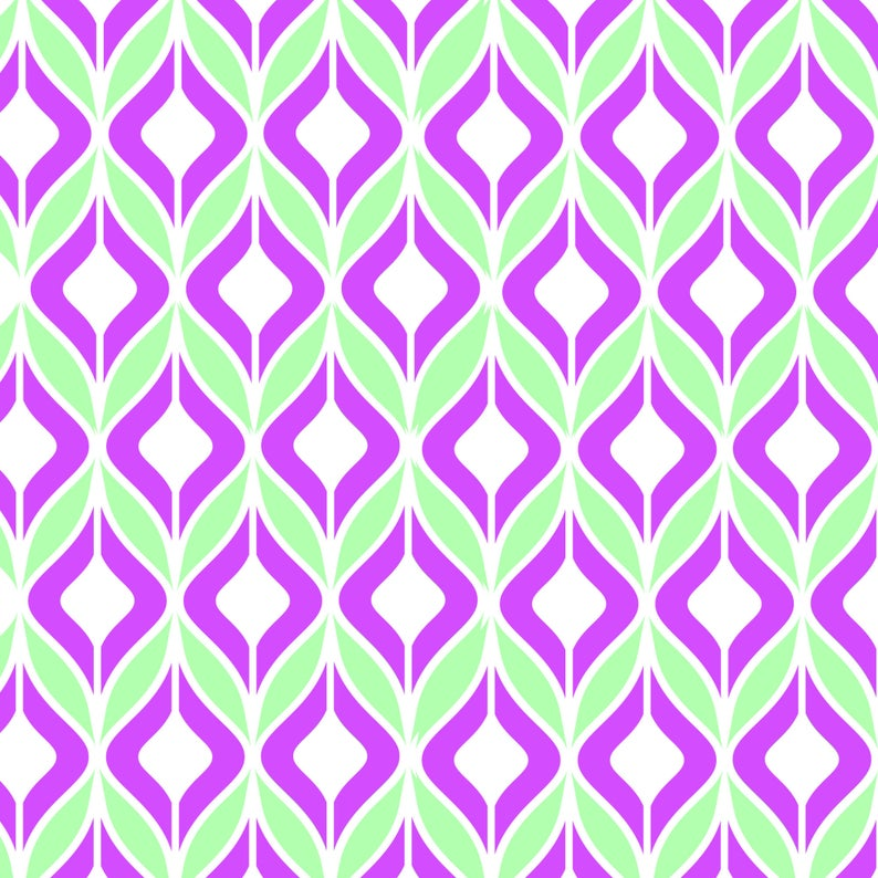 Biba geometric stencil for craft