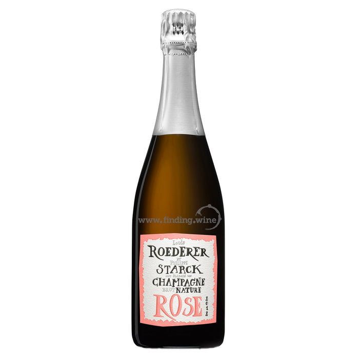 Louis Roederer - 2012 - Brut Nature Philippe Starck Rose - 750 ml.