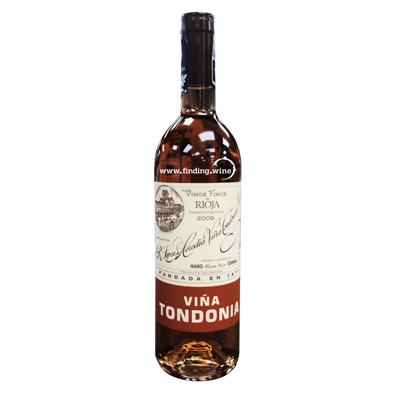 Bodegas R Lopez de Heredia _ 2009 - Vina Tondonia Rose Grand Reserve _ 750 ml. - finding.wine - wine - top wine - rare wine