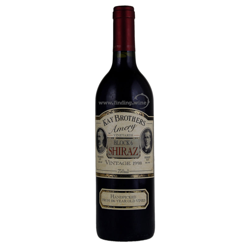 Kay Brothers Amery _ 1998 - Blocks 6 Shiraz _ 750 ml.