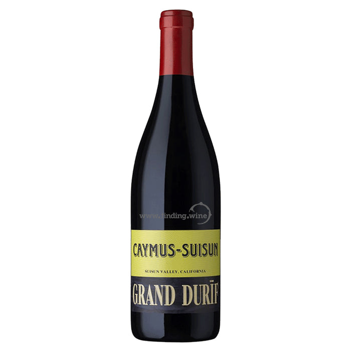 Caymus Wine Company 2017 - Suisun Grand Durif 750 ml.