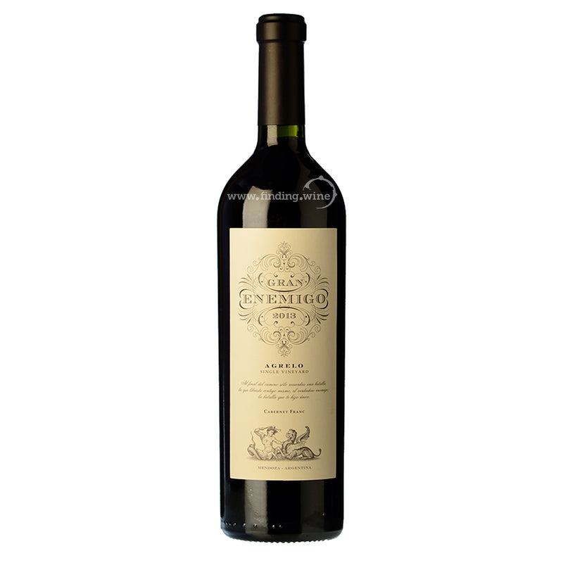 Bodega Aleanna El Enemigo _ 2013 - Gran Enemigo Agrelo _ 750 ml. -  Red wine - Bodega Aleanna El Enemigo - finding.wine - wine - top wine - rare wine
