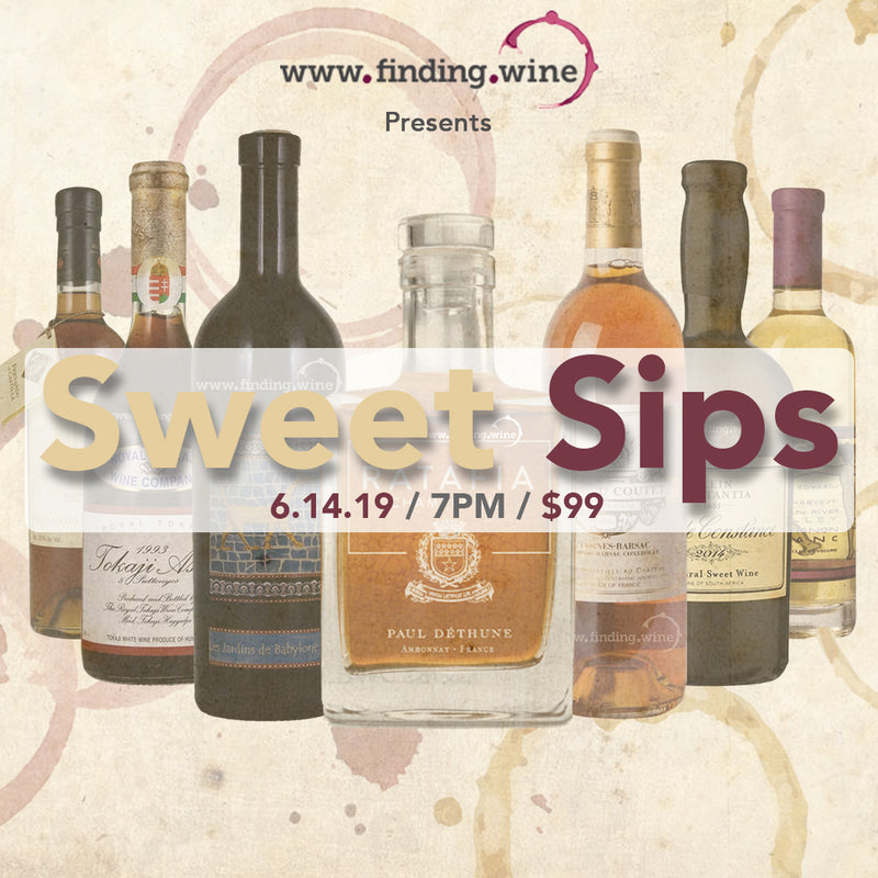 Sweet Sips Tasting Event
