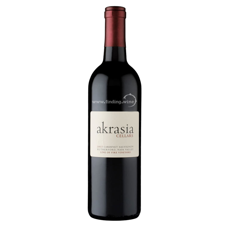 Akrasia Cellars 2013 - Line of Fire 750 ml. -  Red wine - Akrasia Cellars - finding.wine - wine - top wine - rare wine