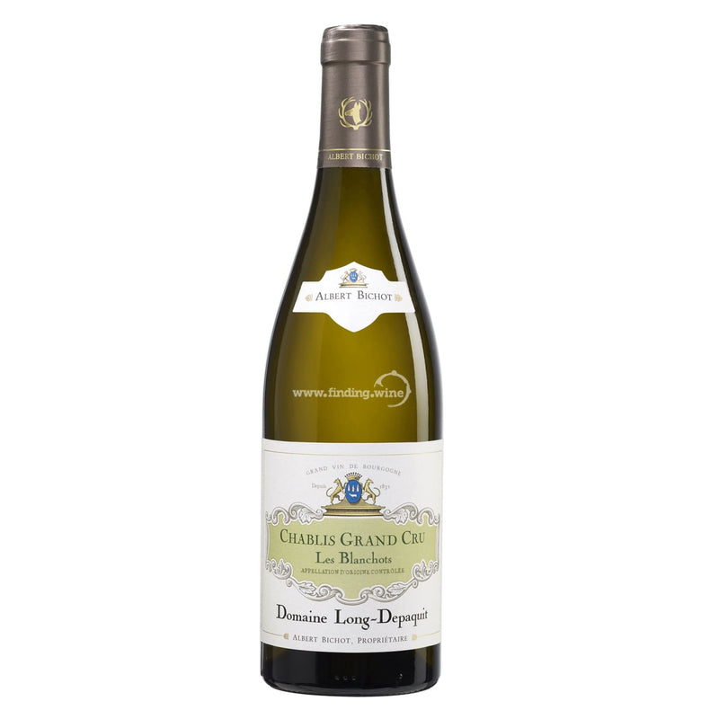 "Albert Bichot Domaine Long-Depaquit _ 2016 - Chablis Grand Cru ""Les Blanchots"" _ 750 ml. - finding.wine - wine - top wine - rare wine"