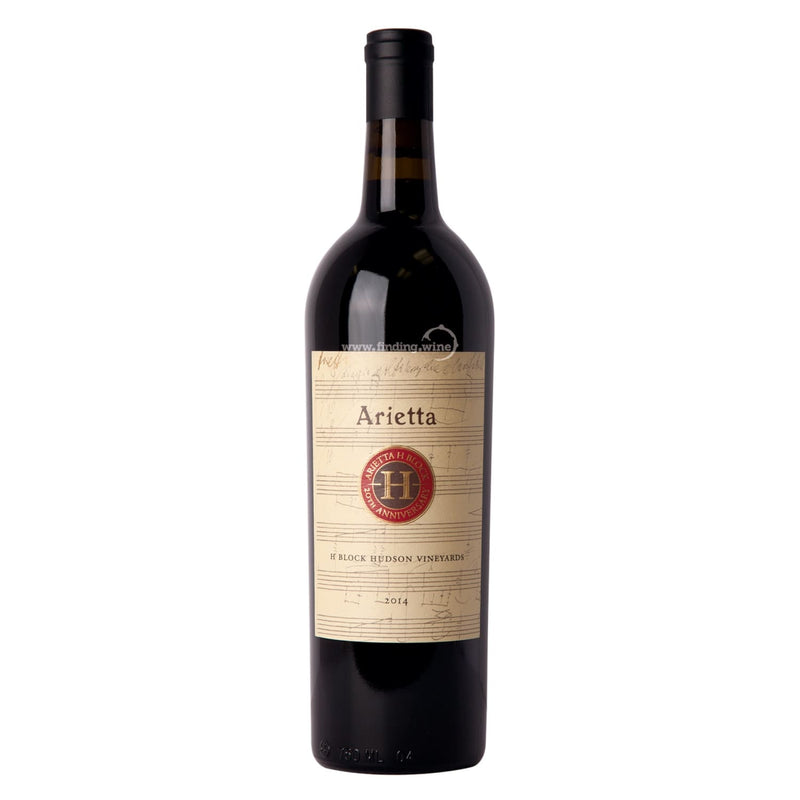 Arietta _ 2014 - H Block Hudson Vineyards _ 750 ml. - finding.wine - wine - top wine - rare wine
