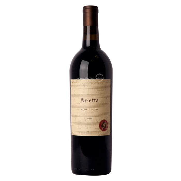 Arietta 2014 - Variation One 750 ml.