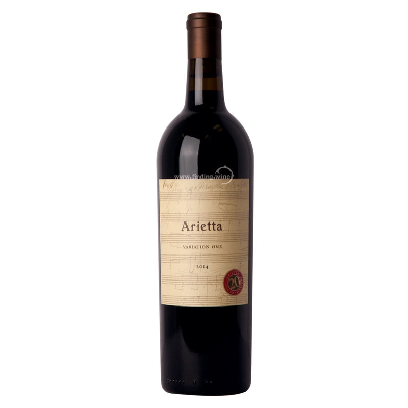 Arietta 2014 - Variation One 750 ml. -  Red wine - Arietta - finding.wine - wine - top wine - rare wine