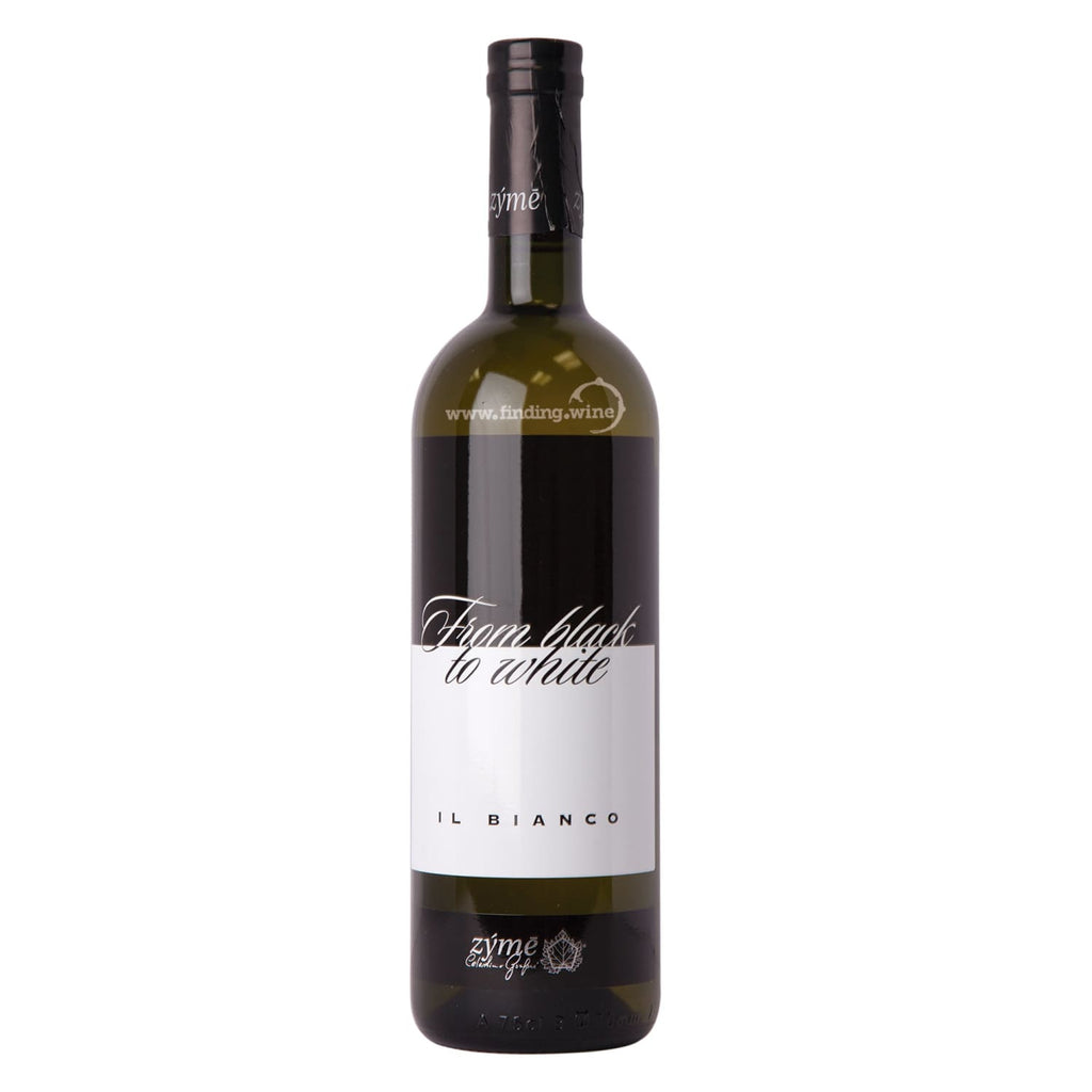 Azienda Agricola Zyme _ 2014 - Il Bianco black to white _ 750 ml. - finding.wine - wine - top wine - rare wine