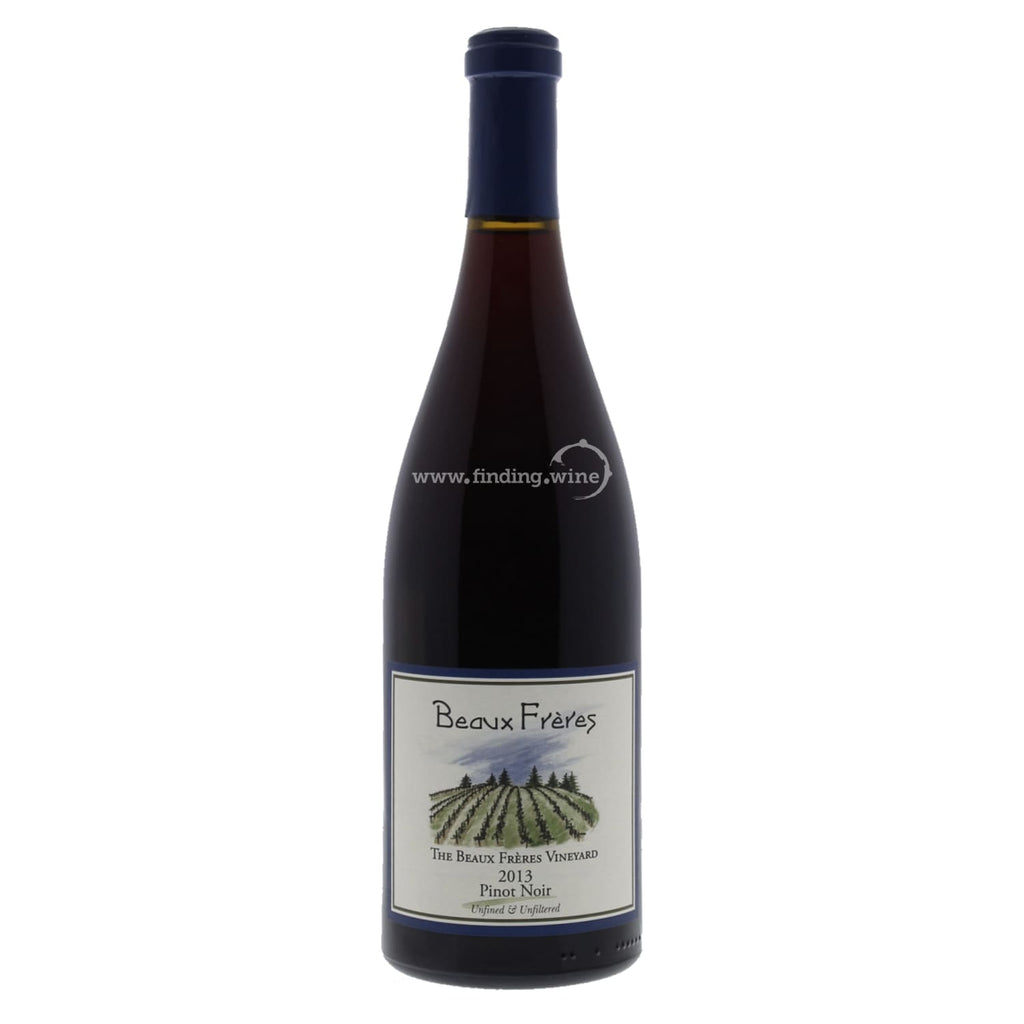 Beaux Freres _ 2013 - The Beaux Freres Vineyard Pinot Noir _ 1.5 L - Red - www.finding.wine - Beaux Freres