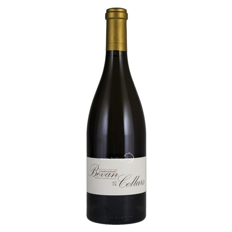 Bevan Cellars 2014 - Ritchie Vineyard Chardonnay 750 ml. -  White wine - Bevan Cellars - finding.wine - wine - top wine - rare wine