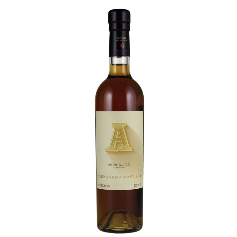 "Bodegas Fernando de Castilla _ NV - Amontillado ""Antique"" _ 500 ml. - finding.wine - wine - top wine - rare wine"
